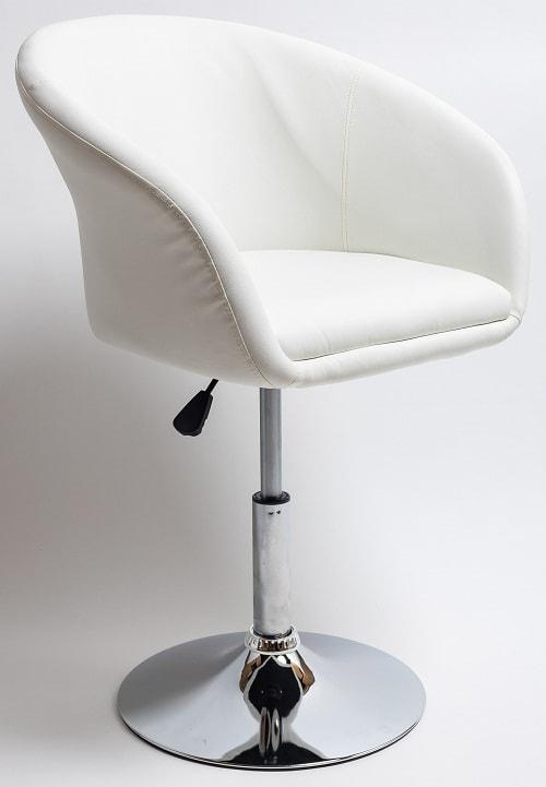 Полубарный стул BN-1808 Белый
