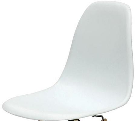 Белый сиденье от Стул BARNEO N-12+Каркас N-12-14