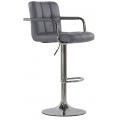 Барный стул BARNEO N-69 серый