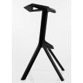 Барный стул BARNEO N-228 черный сбоку