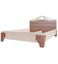 Кровать (Спальня Лагуна 5) (160х200)