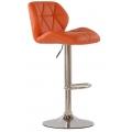 Барный стул BARNEO N-85 Diamond Оранжевый