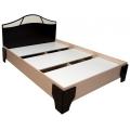 Кровать (Спальня Лагуна 5) (140х200) настил ЛДСП