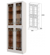 Шкаф для посуды ВМ-12 (гостиная Вега)