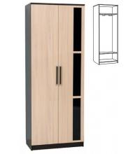 Шкаф 2 х. ств. для платья (спальня ЭДМ 2)