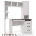 Компьютерный стол №6 (SV) Ясень Анкор светлый