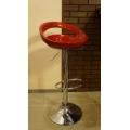 Барный стул 7363 (Smiley) Красный (ДАКАр)