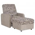 Кресло Нео 21 (КР) с пуфиком