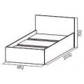Кровать спальня ЭДМ 5 (90х200) схема