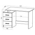 Компьютерный стол №8 (SV) наполнение