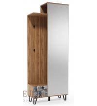 Вешалка с зеркалом (800) Колибри (SV)