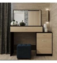 Стол туалетный с зеркалом МД9