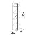 Пенал (Гамма 15 модульная) схема