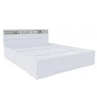 Кровать+стекла Николь 1 (SV) (140х200)