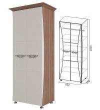 Шкаф комбинированный+багет (спальня Лагуна 7)
