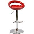 Барный стул N-6 Disco красный
