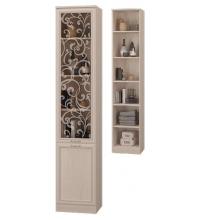 Шкаф для книг со стекл. дв (Гостиная Верона)