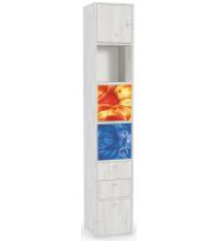 Стеллаж Тетрис 1 316+комп. фас. 367 (mobi)