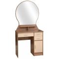 Туалетный столик Надежда М-04 ясень шимо темный / дуб молочный.