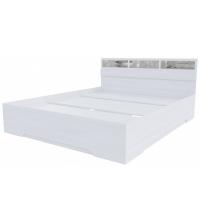 Кровать+стекла Николь 1 (SV) (160х200)
