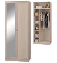 Шкаф 2-х дв. с зеркалом (Гостиная Верона)