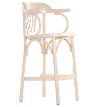 Барный стул BARNEO Венский Апполо (660мм) бел. дуб.