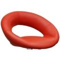 Полубарный стул BARNEO N-84 Mira для столешниц 75-95см Красный
