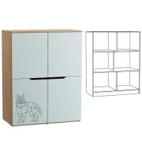 Шкаф 13.135 Гудвин (mobi)
