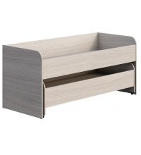 Кровать КР-015 (80х200) + К-016  (80х190) Мийа 3 А