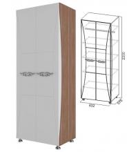 Шкаф комбинированный (спальня Лагуна 7)