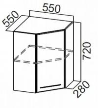 Шкаф Ш550у/720 угловой