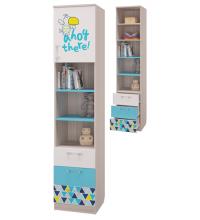 Шкаф для книг с 3-мя ящ. и дв. (Джимми)