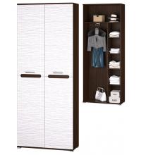 Шкаф 2-х двер. для платья и белья (Прихожая Мишель)