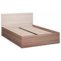 Кровать (Спальня Лестер) (140х200) Основание-Гибкое-Ламели