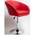 Полубарный стул BN-1808 красный