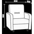Кресло Нео 49 (КР) схема
