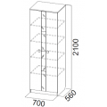 Шкаф (Гамма 15 модульная) схем