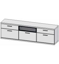 Шкаф навесной Бм.Кор-97 (АЛ)