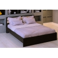 Кровать МД16 (160х200) Венге/дуб млечный (МД16)