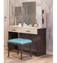 Туалетный столик (ш1008*г482*в1482мм) (Памир), tualetnyj-stolik-sh1008g482v1482mm-pamir