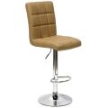 Барный стул N-48H Kruger светло коричневый