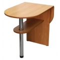 Стол обеденный раскладной АС-Мебель сложенный