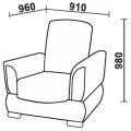 Кресло Нео 57 (КР) схема