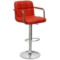 Барный стул BARNEO N-69 красный