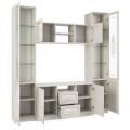 Гостиная Шкаф комбинированный Габриэлла (06.87) наполнение