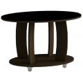 Кофейный столик 738 LS стекло черное