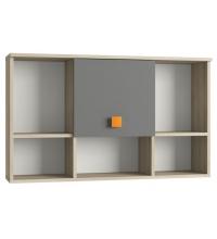 Шкаф навесной Доминика 455 (mobi)