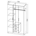 Шкаф ШКР1200.2 (Ронда) схема