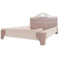 Кровать (Спальня Лагуна 5) (160х200) Ясень шимо темный/ясень шимо светлый