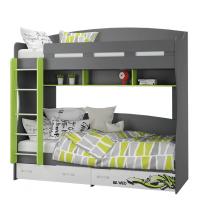 Кровать двухъярусная (Граффити)